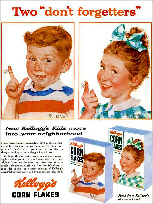Kellogs Corn Flakes 1955 by 1950sUnlimited, on Flickr