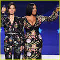 Olivia Munn & Niecy Nash Call Out Mark Wahlberg's Big Payday at Critics' Choice Awards 2018 Olivia Munn...