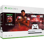 Microsoft Xbox One S NBA 2K20 Bundle - 1 TB - Robot White