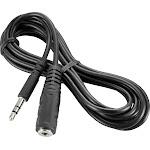 Insignia - 6' 3.5mm Mini Audio Extension Cable - Black