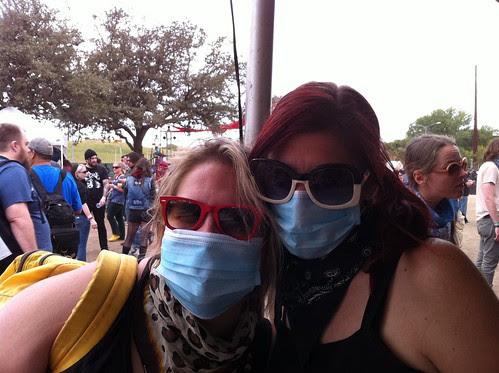 Dust Mask City at Fun Fun Fun Fest 2011