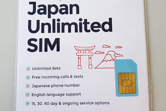 Unlimited Japanese SIM Card by Mobal » Zooming Japan