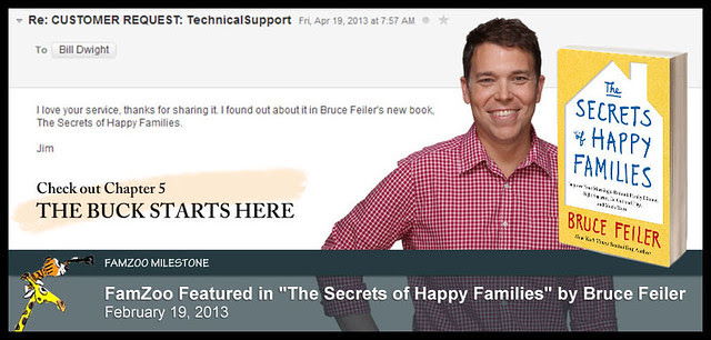 FamZoo Featured in the Secrets of Happy Families