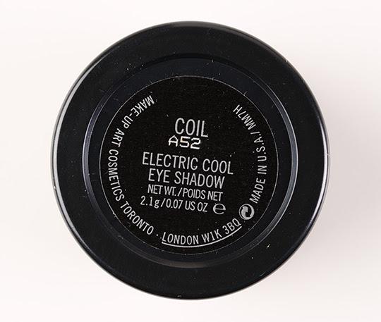 MAC Coil Electric Cool Eyeshadow