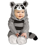Fun World Kids Baby Raccoon Costume Baby Costume Multi