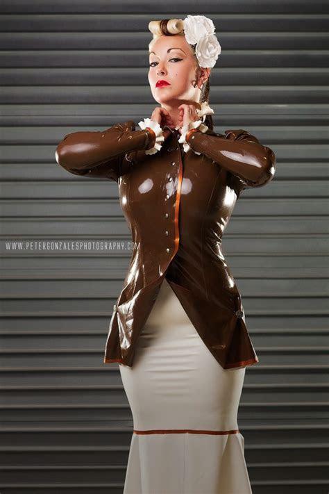 Victorian Riding Jacket ? Dawnamatrix Latex Clothing