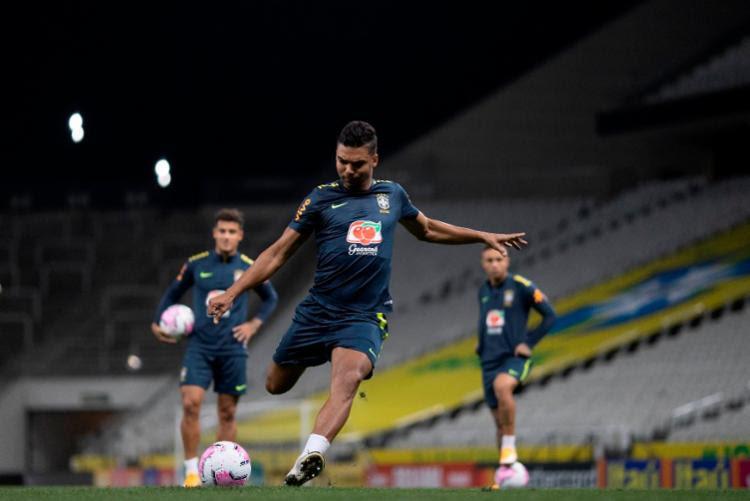 Pelo perfil de liderança, Casemiro foi escolhido por Tite para ser o capitão na partida desta sexta-feira | Foto: Lucas Figueiredo | CBF - Foto: Lucas Figueiredo | CBF