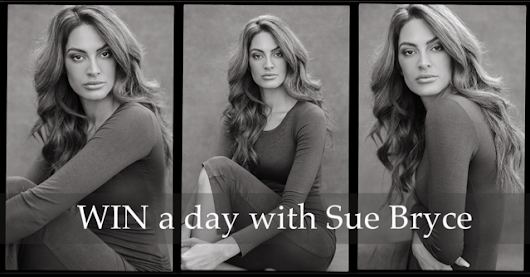 WIN A DAY WITH SUE BRYCE!