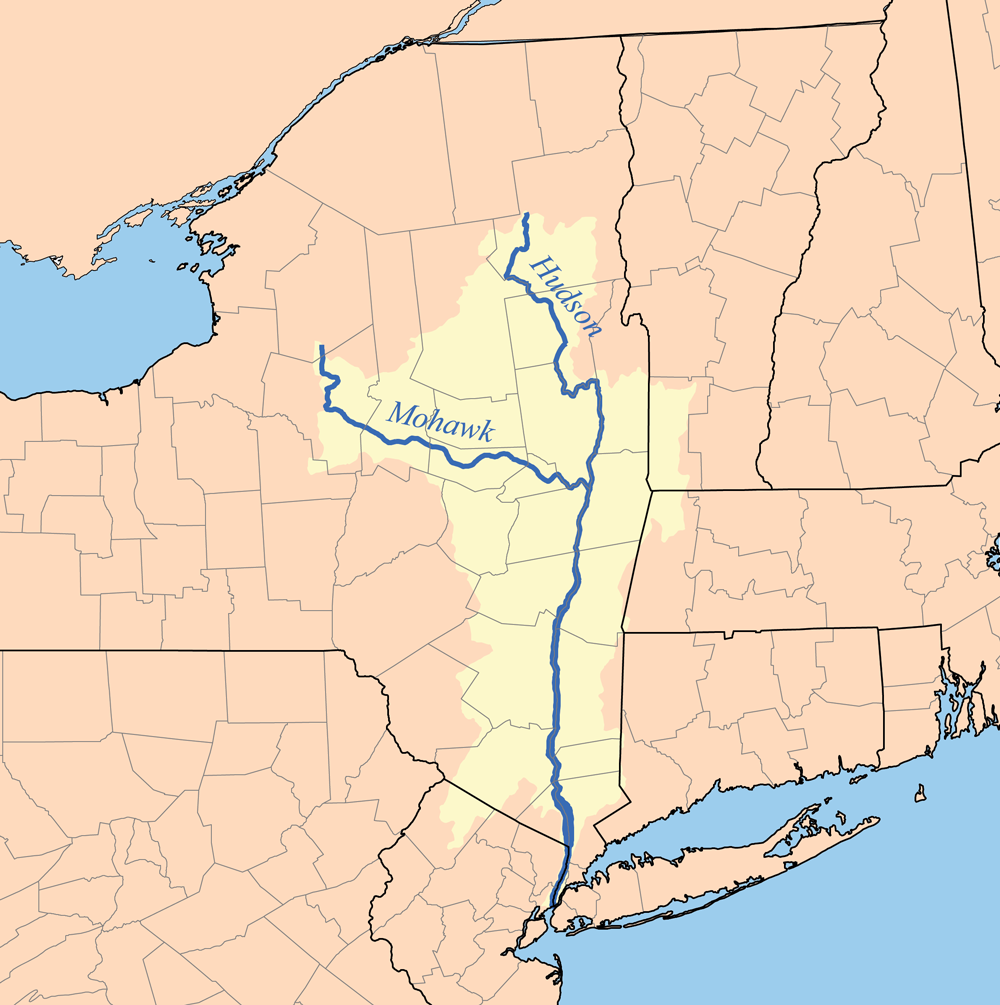 Hudson River watershed