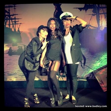 Gambar Nabila Huda di Party Halloween 2012