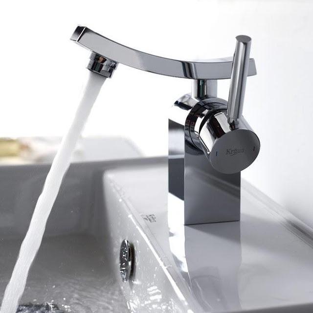 Kraus KEF-14301CH Unicus Single Lever Basin Faucet - modern ...