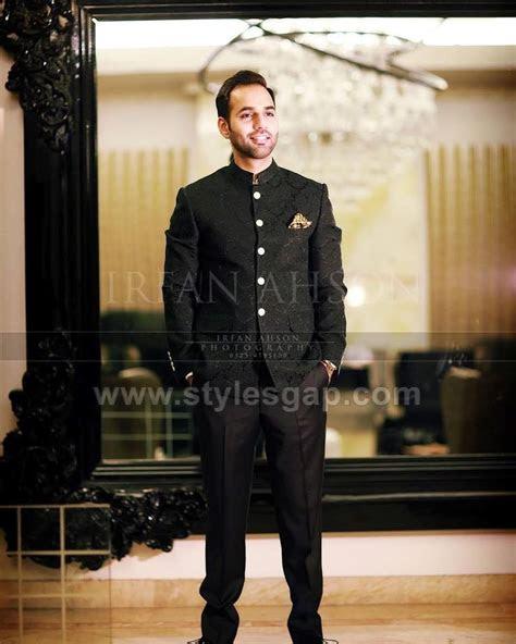 latest men wedding dresses mehndi barat walima collection