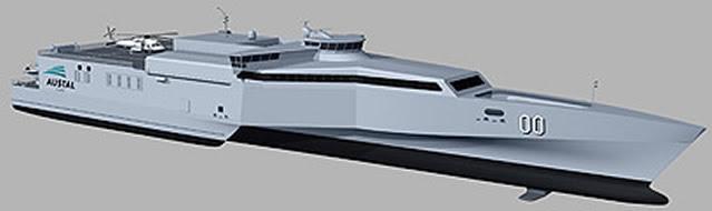 Austal Limited (Austal) se complace en anunciar que ha obtenido un contrato de un cliente naval en Oriente Medio para el diseño, construcción y apoyo logístico integrado de dos buques de 72 metros de Apoyo de alta velocidad (HSSVs).