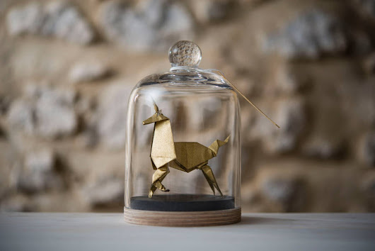 Elegant Origami Sculptures of Animals