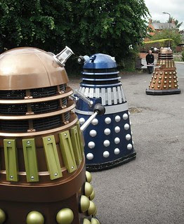 Dalek invasion Buckinghamshire