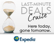 Last Minute Cruise Deals with Expedia!