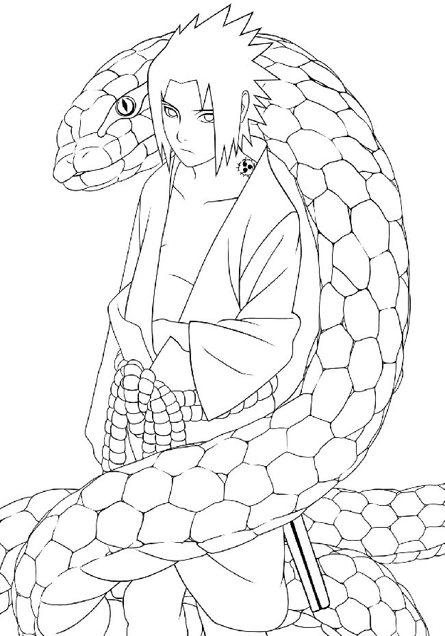 41 Top Anime Coloring Pages Cool Pictures