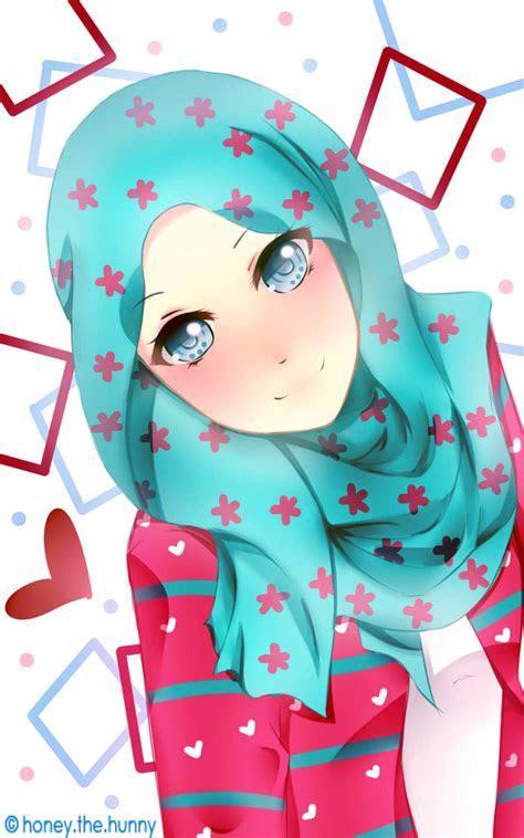 Download 4500  Gambar Animasi Muslimah Cantik HD Terbaik