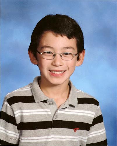 Adam 2nd grade portrait
