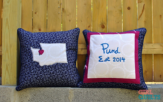 Seattle Wedding Pillows