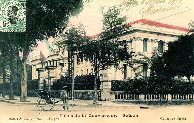 Saigon - Palais du Lieutenant-Gouverneur