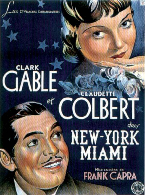 New York Miami Film 1934 Allociné