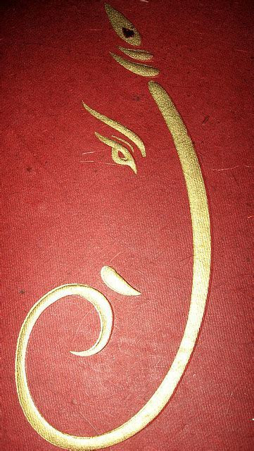 Lord Ganesha on Hindu Wedding Invitation Cards ? Indian