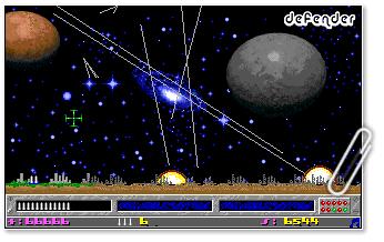 Defender, juego VGA
