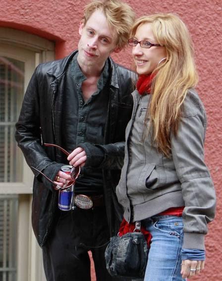 Macaulay Culkin com fã