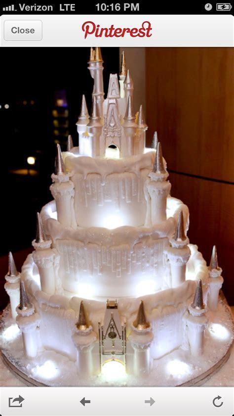 Princess castle wedding cake   Wedding   Pinterest