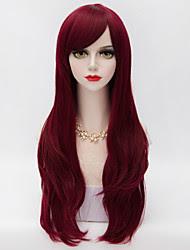 Resultado de imagen para dark red wig