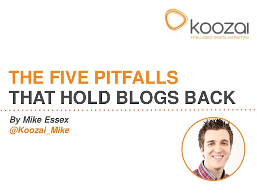 The Five Pitfalls That Hold Blogs Back