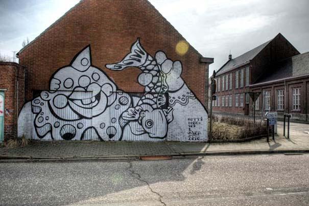 Doel: Το εγκαταλελειμμένο χωριό που παραδόθηκε στην τέχνη του δρόμου (36)