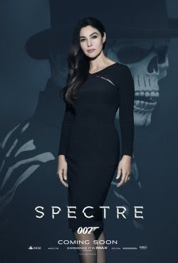 Monica Bellucci's Spectre poster - click to see the rest of the posters