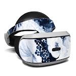 DecalGirl PSVR-BLUEBLOOMS Sony Playstation VR Skin - Blue Blooms