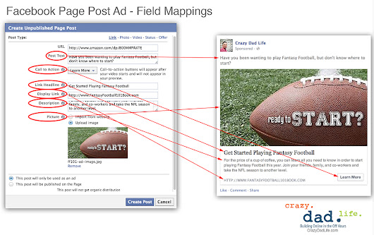 How to Populate a Facebook Unpublished Page Post, Without Screwing Up -