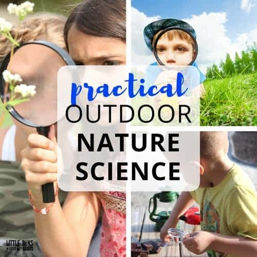 Outdoor Nature Science Activities and STEM Projects for Kids