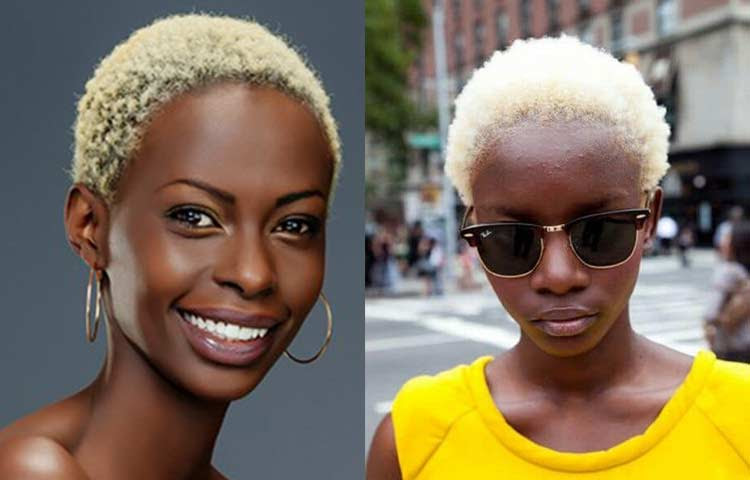 Best Hair Color For Dark Skin Tone African American Chart Ideas For Red Undertones