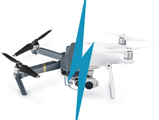 DJI Phantom 4 Pro, or DJI Mavic Pro? You Can't Go Wrong with Either of These Drones for Free