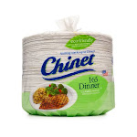 "Chinet Paper Dinner Plates, 10-3/8"" - 165 count"
