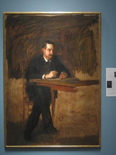Portrait of Professor William D. Marks, Thomas Cowperthwait Eakins _ 1916