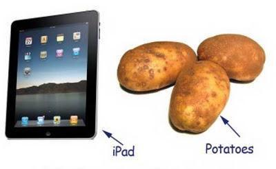 iPad, lừa đảo, khoai tây, Manchester