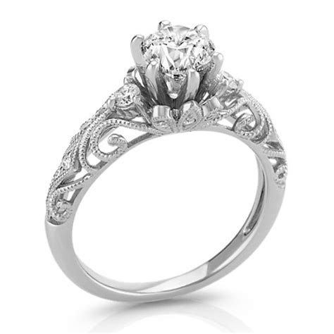 Vintage Diamond Engagement Ring   Shane Co.