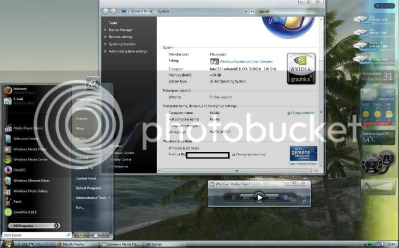 Video's van Windows vista ultimate service pack 1 keyg…