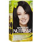 Nutrisse Nourishing Color Creme Permanent Haircolor, Black, Licorice 10