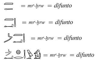 La Escritura Jeroglífica Egipcia Carolina Domenech Belda