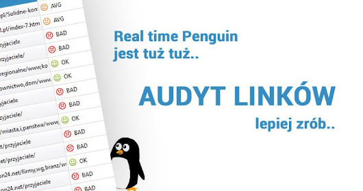 Real time Penguin - Czas na audyt linków