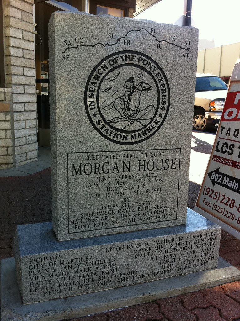 Pony Express Morgan House