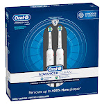 Oral-B Advanced Clean Power Rechargeable Electric Toothbrushes 2-pack