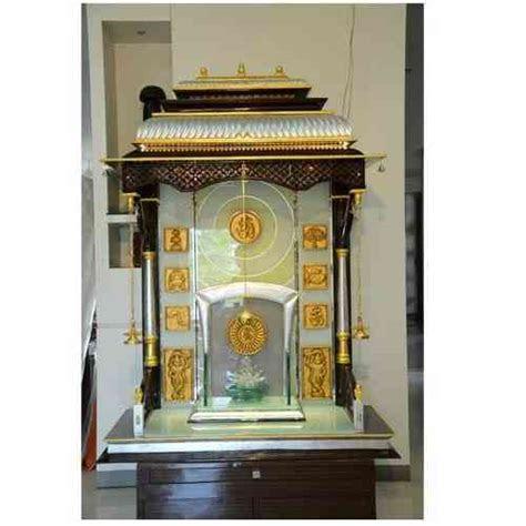glass mandir designs  home glass temple designs